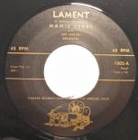 "45Re ✦MAMIE PERRY✦ "" Lament / Love Lost"" Mid Paced Female R&B In Demand. Hear ♫"